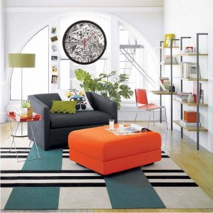 Room and accessories by CB2