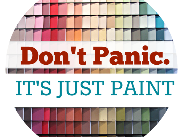 choosing paint colors with courage