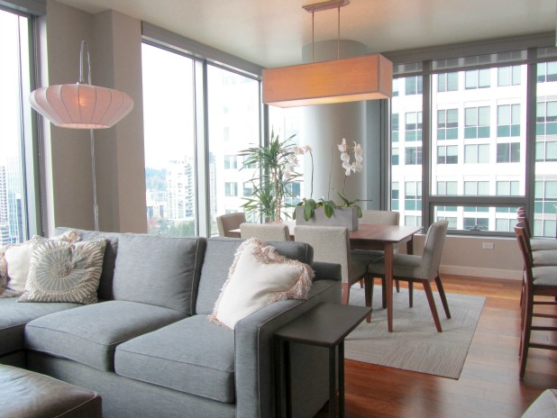 Small Space Urban Condo Downsizing After