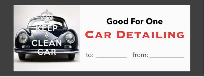 10 priceless gifts that cost almost nothing rebecca west for Auto detailing gift certificate template