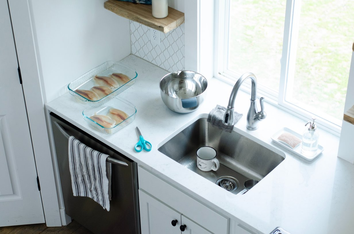 Three Essential Measurements For Replacing Your Kitchen Sink Seriously Happy Homes
